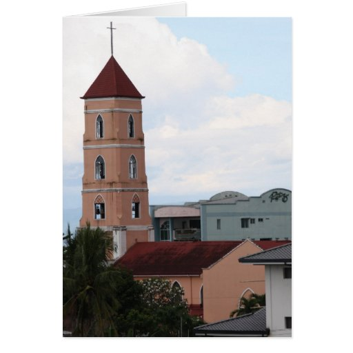 Santo Niño Church, Tacloban City Card