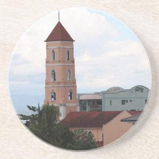Santo Niño Church Tacloban City Beverage Coasters