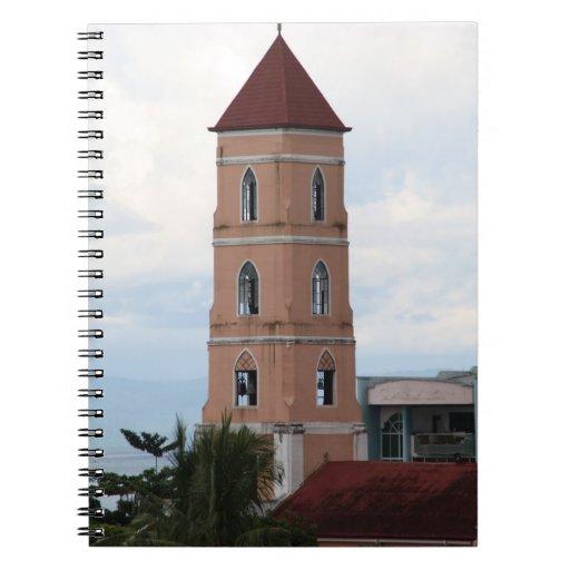 Santo Niño Church, Tacloban City Spiral Notebooks