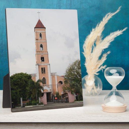 Santo Niño Church, Tacloban City Display Plaque