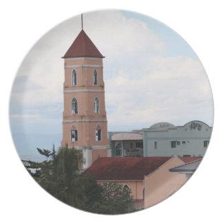 Santo Niño Church, Tacloban City Dinner Plate