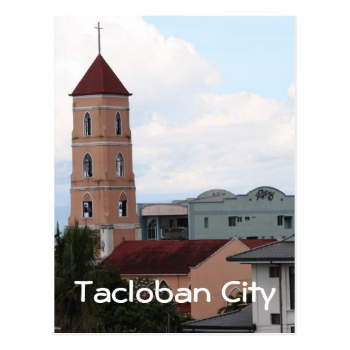 Santo Niño Church, Tacloban City Post Card