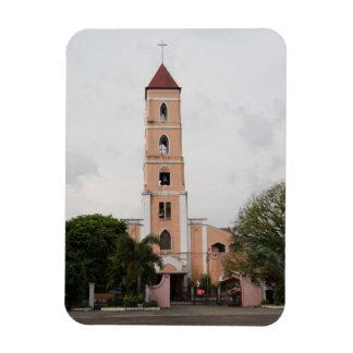Santo Niño Church, Tacloban City Rectangular Photo Magnet