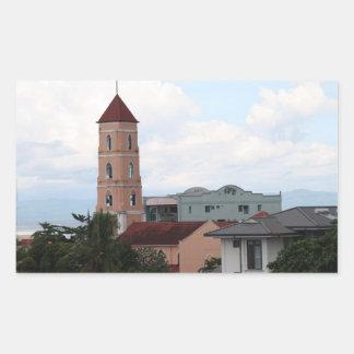 Santo Niño Church, Tacloban City Rectangular Sticker