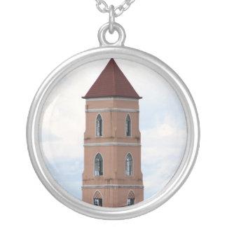 Santo Niño Church, Tacloban City Round Pendant Necklace