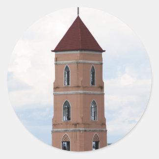 Santo Niño Church, Tacloban City Round Sticker