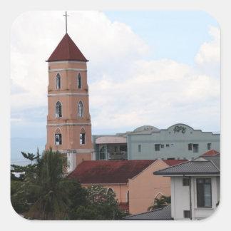 Santo Niño Church, Tacloban City Square Sticker