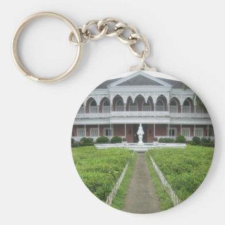 Santo Niño shrine Basic Round Button Key Ring