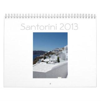 Santorini Calendar 2013