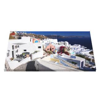 Santorini Canvas