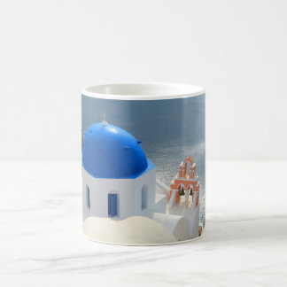 Santorini Church in the Afternoon Sun Coffee Mug
