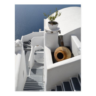 Santorini Dreams Postcard