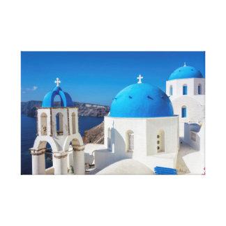 Santorini, Greece Canvas Print