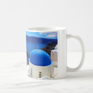 Santorini, Greece. Coffee Mug