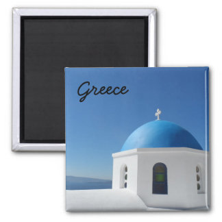 Santorini Greece Fridge Magnets