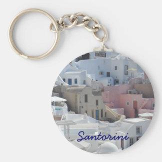 Santorini, Greece Key Chain
