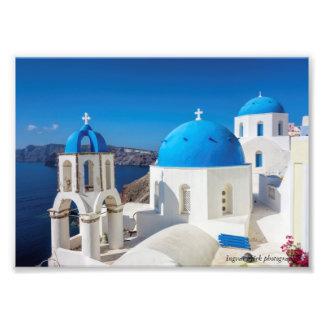 Santorini, Greece Photo Print