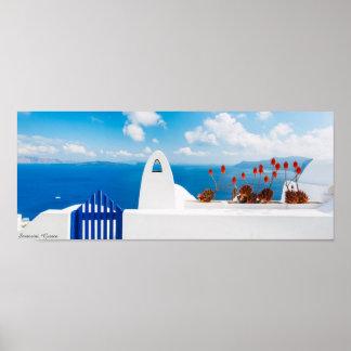 Santorini Greece Poster