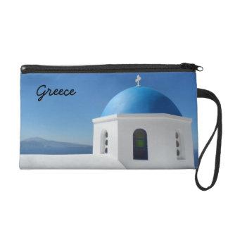 Santorini, Greece Wristlet
