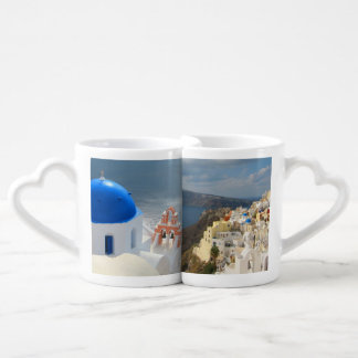 Santorini in the Afternoon Sun Coffee Mug Set