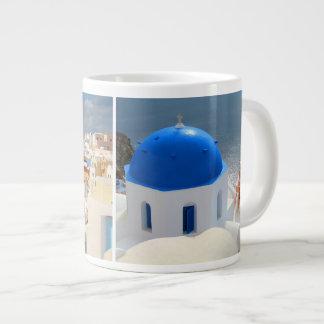 Santorini in the Afternoon Sun Giant Coffee Mug