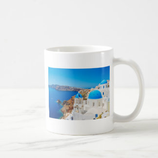Santorini Island - Caldera, Greece Coffee Mug