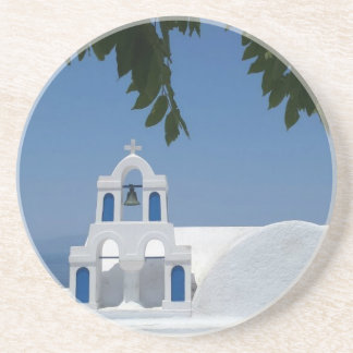 Santorini Island Greece Coaster