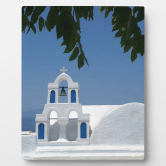 Santorini Island Greece Plaque