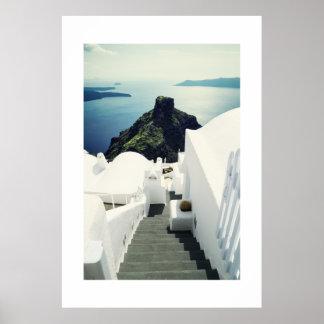 Santorini Island, Greece Poster