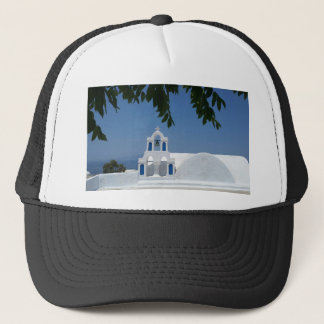 Santorini Island Greece Trucker Hat