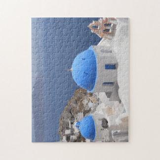 Santorini Island Jigsaw Puzzle