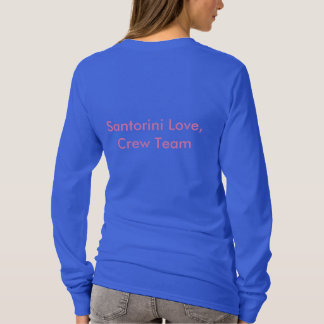Santorini Love T-Shirt
