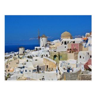 Santorini Oia Postcard