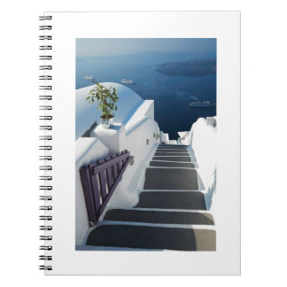 Santorini Oia Steps, Greece Notebook
