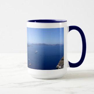 Santorini Panorama Mug