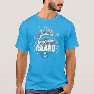 Santorini Paradise Island design T-Shirt