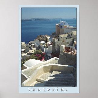 Santorini Poster Print (film photography)