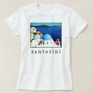 Santorini Souvenir T-Shirt (men, women, children)