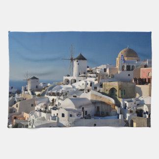Santorini Tea Towel
