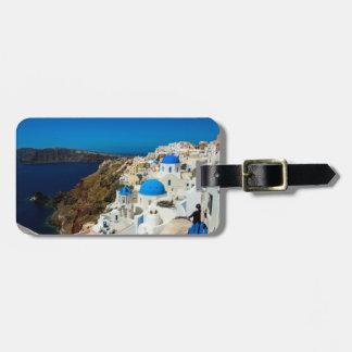 Santorini, The Greek Islands Luggage Tag