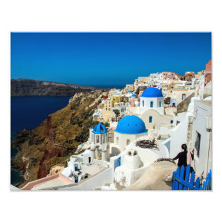 Santorini, The Greek Islands - Photo Print