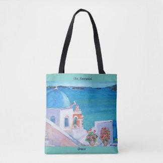 Santorini - tote bag