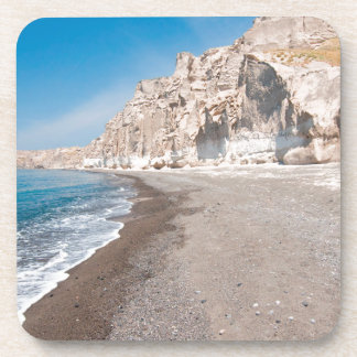Santorini Vlichada beach Coaster