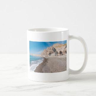Santorini Vlichada beach Coffee Mug