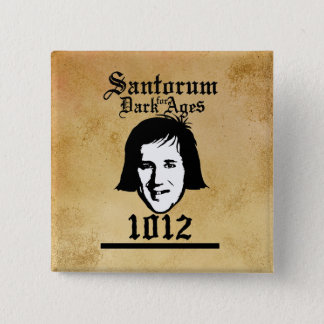 Santorum 1012 15 cm square badge