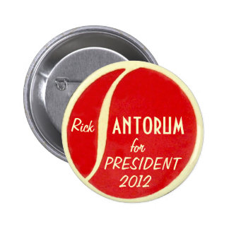 Santorum 2012 button