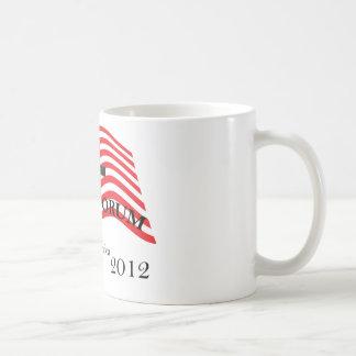 Santorum Sacrificing for America 2012 Coffee Mug