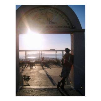 SantoWines Vineyards Postcard