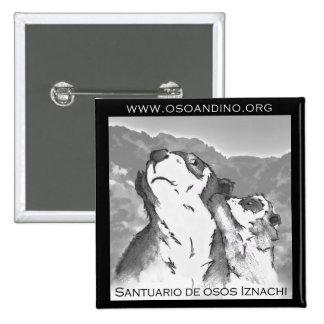 Santuario de Osos Iznachi - Broche 15 Cm Square Badge