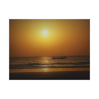 Sanyang Sunset Canvas Print